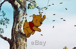 16mm Fim Cartoon Featurette Winnie The Pooh and The Honey Tree LPP Color