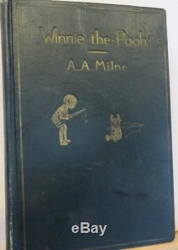 1926 A. A. Milne WINNIE-THE-POOH Ernest Shepard E. P. Dutton 1ST U. S. EDITION