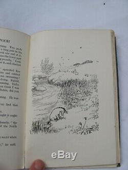 1926 RARE 1st Edition Winnie The Pooh A A Milne 1st Printing Collectable