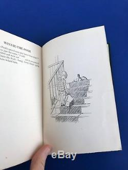 1926 WINNIE THE POOH 1st UK Edition 2nd Printing Shepard Illustrated Methuen Pub