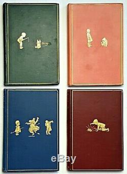 1926 WINNIE THE POOH SET Disney Bear FIRST UK ED 1st Yr PRINTING Child A A Milne