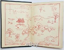 1926 WINNIE THE POOH vtg FIRST ED 2nd US PRINTING Child A MILNE Disney Bear RARE