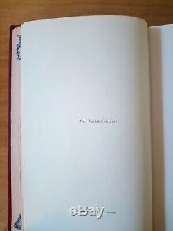 1927 1ST EDITION of NOW WE ARE SIX by A A MILNE. WINNIE THE POOH. FIRST PRINTING