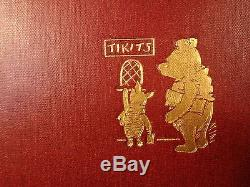 1927 1st ed Now We Are Six + 1928 1ed House at Pooh Corner Winnie-the-Pooh Milne