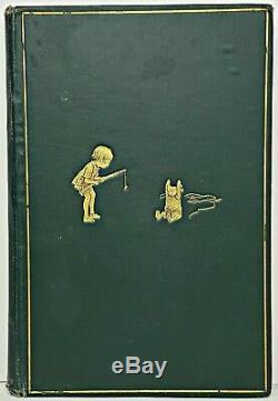 1929 WINNIE THE POOH Bear FIRST UK ED vtg 8TH PRINTING Child A MILNE Disney RARE