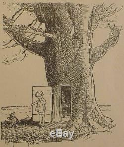 1929 edition WINNIE THE POOH Teddy Bear FIRST FORMAT Child A MILNE Disney RARE