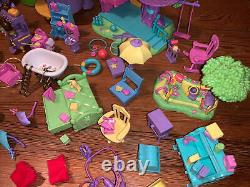 1998-99 Winnie The Pooh Friendly Places Treehouse Playset Collectible Lot & More