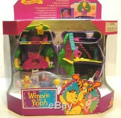 1998 Disney Bluebird Polly Pocket Mini Collection Winnie the Pooh Honey Pot NEW