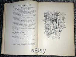 1st Ed' Winnie The Pooh, By A. A. Milne, Illustrated By E. Shepard, Printed 1926