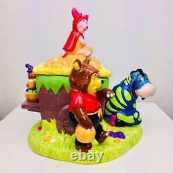 2000 Vintage Disney Winnie the Pooh & Friends Halloween Cookie Jar with Sound