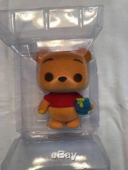 2012 SDCC Excl Disney Funko Pop! #32 Winnie the Pooh (Flocked) LE 480