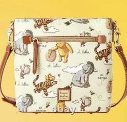 2020 Disney Parks Dooney & Bourke Winnie The Pooh Crossbody Bag New
