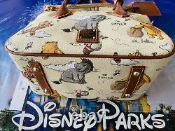 2020 Disney Parks Dooney & Bourke Winnie The Pooh Crossbody Satchel Bag New C