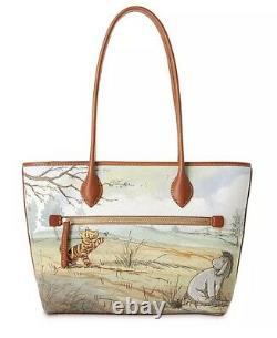 2020 Disney Parks Dooney & Bourke Winnie The Pooh Tote Purse Bag New