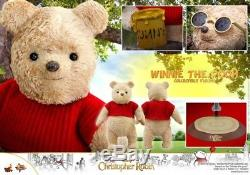 24cm HOT TOYS CHRISTOPHER ROBIN WINNIE THE POOH MMS502 Collectible Figure Toys