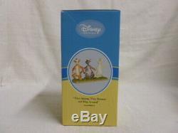 3 Pcs Walt Disney Winnie the Pooh Friends Big Parade Eeyore Piglet Owl Figurine