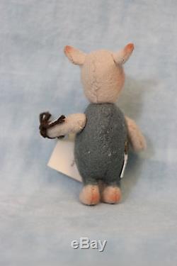 3 R. John Wright Dolls Pocket Piglet Winnie the Pooh Series 1994 Mint in Box