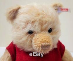 355424 Winnie the Pooh Bear Disney Christopher Robin Edition Mohair by Steiff
