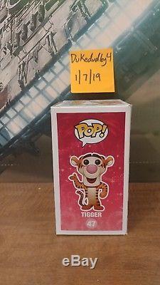 47 Tigger Winnie The Pooh Funko Pop Disney Vaulted RARE