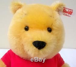 683411 Disney Winnie the Pooh Bear Mohair Limited Edition by Steiff Boxed