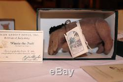 8 Piece Set Winnie the Pooh Pocket Series R. John Wright Mint in Boxes