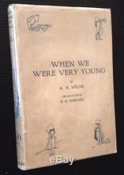 AA Milne / Pooh Tetralogy Winnie the Pooh/When We Were Very Young/The 1st ed