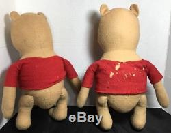 Antique Lot of Agnes Brush Winnie the Pooh and Friends 1940's Pre-Disney Doll