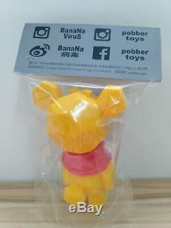 BanaNa Virus Pobber Winnie the Pooh Booh Soft Vinyl Figure Sofubi