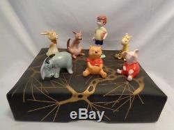 Beswick England Winnie the Pooh Christopher Robin Tigger Kanga w Designer Box