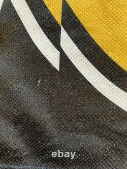 Boston Bruins 2000-2001 Joe Thornton Winnie the Pooh Bear Third Hockey Jersey XL