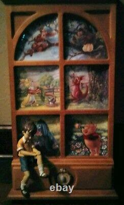 Bradford Exchange The Wonders of the Wood Winnie the Pooh -WithCOA's