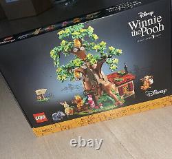 Brand New Lego Ideas Disney WINNIE THE POOH 21326 Ready To Ship Now