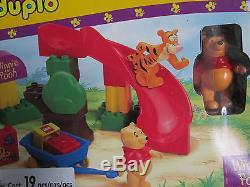 Brand New in Box Lego Duplo Winnie the Pooh Tigger's Slippery Slide #2985 RARE