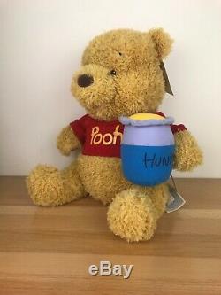 Build a Bear Disney Winnie the Pooh Bear Gift Set with Sounds NWT
