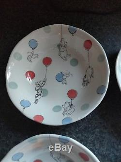 Cath Kidston X Disney Winnie The Pooh Bowls x 4