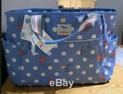 Cath Kidston X Disney Winnie The Pooh Spot Nappy Changing Bag BRAND NEW