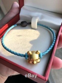 Chow Tai Fook Winnie The Pooh 24K 999 Gold Charm Bracelet