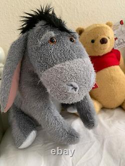 Christopher Robin Movie Pooh/Tigger/Eeyore/Piglet/Kanga & Roo Plush Set of 5