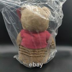Christopher Robin Movie Winnie The Pooh Bear 14 NWT Plush Doll JustPlay Disney