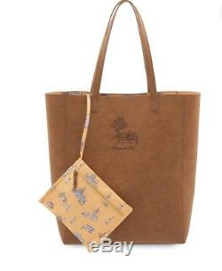 Christopher Robin Winnie The Pooh Tote Bag & Med. Winnie The Pooh Plush (New)