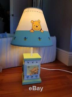 Classic Disney Winnie the Pooh Baby Crib Set