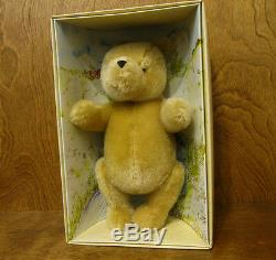 Classic Pooh Gund Plush #7940 CLASIC POOH, 11 Fully jointed Mohair, Mint/Box