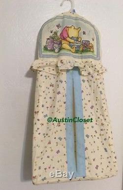 Classic Winnie The Pooh 1996 Crib Bedding