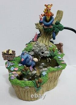 Collectible Vintage Disney Winnie The Pooh And Friends Water Fountain Eeyore