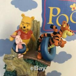 Collectible Vintage Disney Winnie The Pooh Water Fountain With Original Box Rare