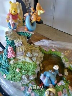 Collectible Vintage Winnie The Pooh And Friends Water Fountain