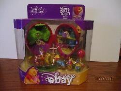 DISNEY Winnie the Pooh Magical Miniatures Red Balloon Playset Vintage BNIB NRFB