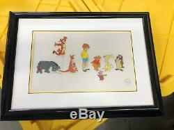 Disney Adventures of Winnie the Pooh Sericel