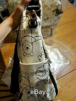 Disney Baby Petunia Pickle Bottom Winnie the Pooh XL Diaper Bag Boxy Backpack