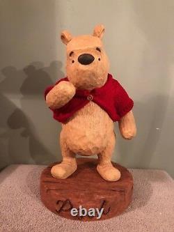 Disney Big Fig Figure Statue Winnie the Pooh 75th Anniversary Figurine
